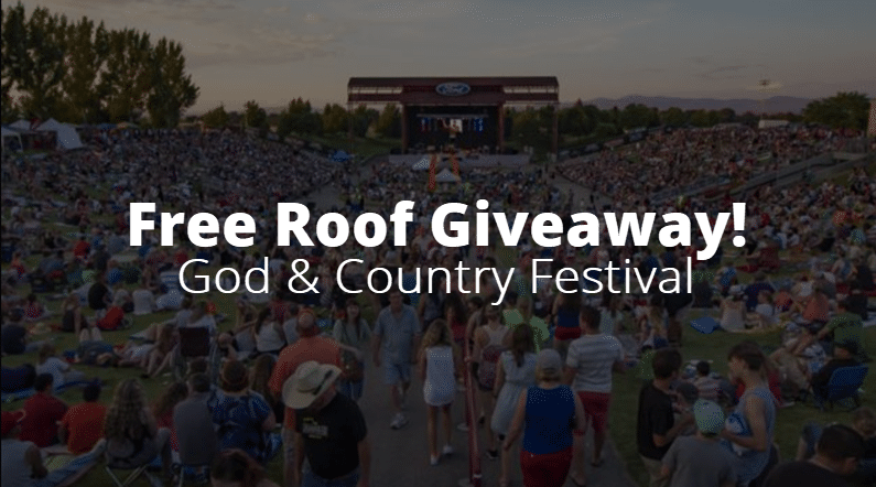 God & Country 2019 (Free Roof Giveaway)