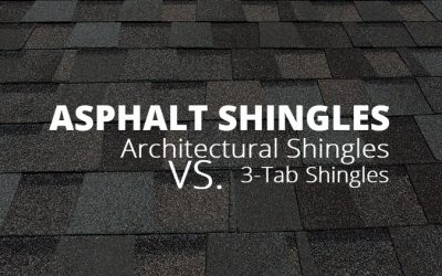 Architectural Shingles vs. 3-Tab Shingles
