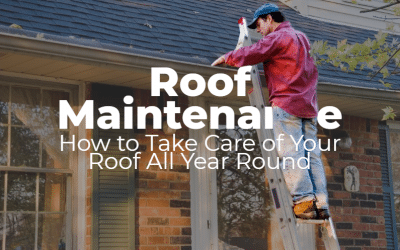 Roof Maintenance: How to Take Care of Your Roof All Year Round